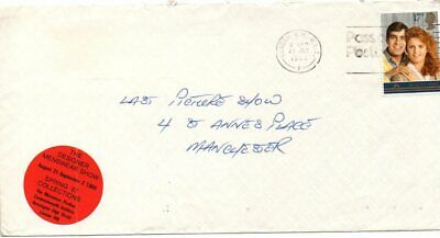 Gb. A 1986  Cover From London. Franked With A 17 P Royal Wedding On Fd Of Issue
