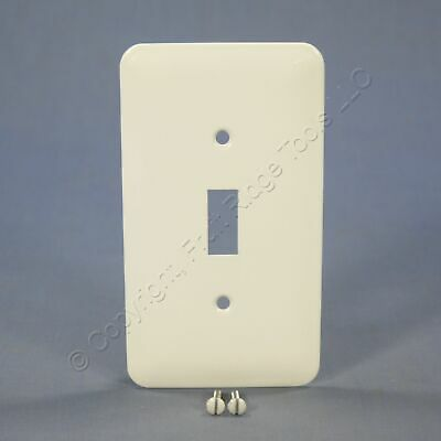 Ivory Morris 83663 Painted Steel Wall Plate 2 Gang Princess Midsize Toggle Switch Wall Plates Tools Home Improvement