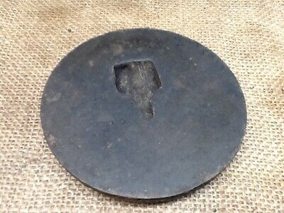 Antique Cast Iron Wood Stove Burner Eye Plate Cover Lid 4 inches