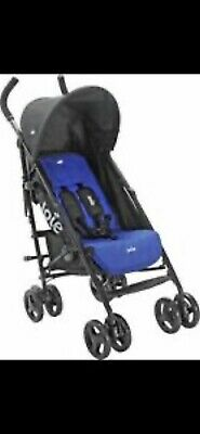 Joie Nitro Pink Stroller/Buggy With Raincover.