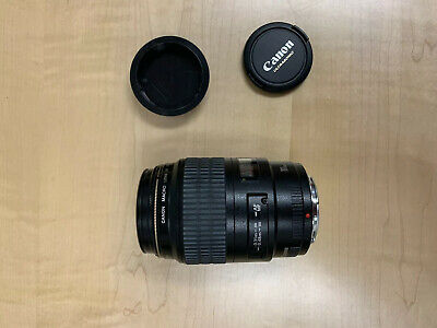 Canon EF 100mm f/2.8 USM Macro UltraSonic Lens NEAR MINT