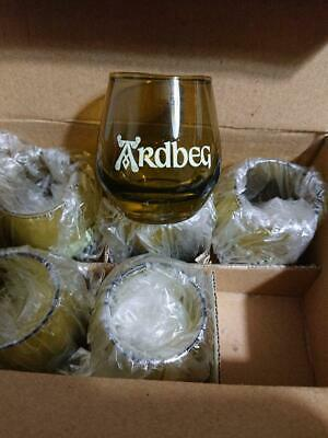 Ardbeg Scotch Whiskey Limited Shot Glass Set of 6 Rare from Japan Free Shipping
