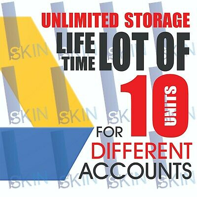 10 UNLIMITED GOOGLE Team DRIVE FOR YOUR EXISTING ACC Lot of 10 drive very fast!