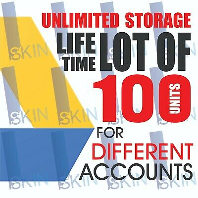 100 UNLIMITED GOOGLE Team DRIVE FOR YOUR EXISTING ACC Lot of 100 drive VERYFAST