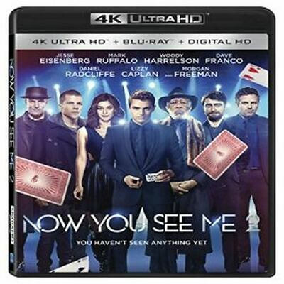 Now You See Me 2 New 4K Bluray
