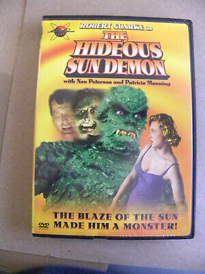 Robert Clarke THE HIDEOUS SUN DEMON DVD blaze of the sun turned him into a