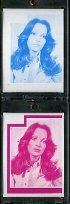 1977 Topps Charlies Angels Color Separation Proof Cards. #220