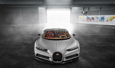 "Speed Beast Super Car Racing Car concept 24/""x14/"" Poster 012 Bugatti Chiron"