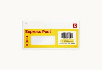 20 X Express Small DL Australia Post Envelope Window Face FREE POST!!