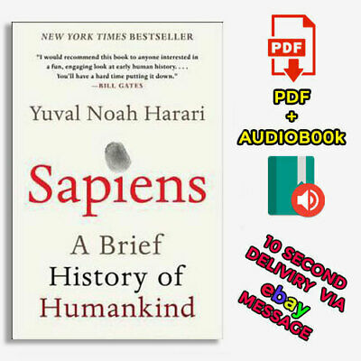 Sapiens : A Brief History of Humankind by Yuval Noah Harari (2020, Digital)