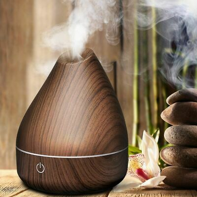 Essential Oil Aroma Diffuser Ultrasonic Air Mist Humidifier Purifier 8 Color LED