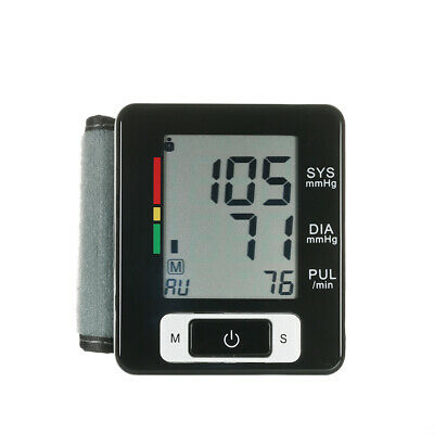 AlphagoMed Clinical LCD Automatic Wrist Blood Pressure Monitor with G4K5