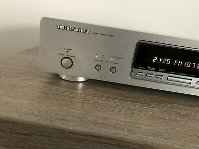 Marantz ST6001 High End RDS Tuner Silver Like New.