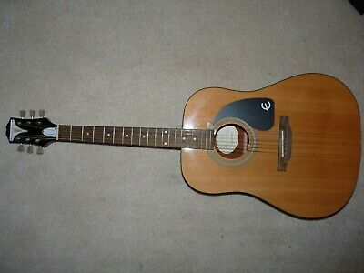 Epiphone PRO-1 NA Acoustic Guitar Right Hand Ohio Bikini Logo 6 String