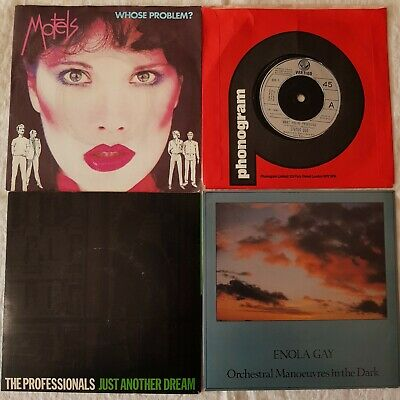 "Status Quo, The Motels, Orchestral Manoeuvres in the Dark, Profs. 4 x 7"" Singles"