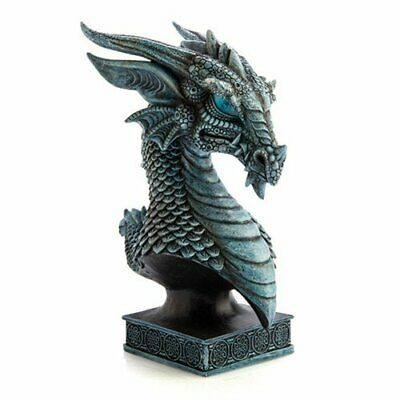 SMALL High Quality Mythical Creature Shaped Ice Dragon Head Fantasy Display