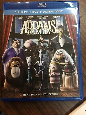 The Addams Family Blu-Ray & DVD, Pre Owned, Like New Condition,