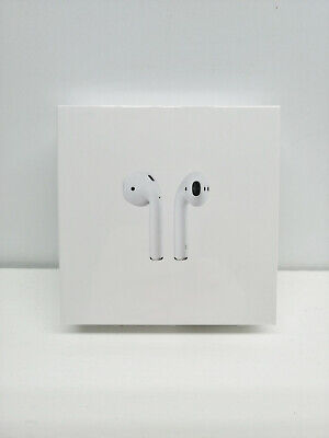 APPLE AIRPODS (2nd GEN) WITH LIGHTNING CHARGING CASE A2032 - A2031 - A1938 - NEW