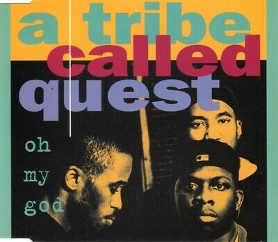 A Tribe Called Quest – Oh My God        4 Track CD Single 1994