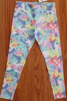 Justice Girls' Pattern Leggings Size 10/12 Plus - Comfort Wide Waistband
