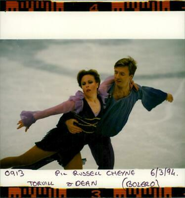 Jayne torvill and Christopher dean. - Vintage photograph
