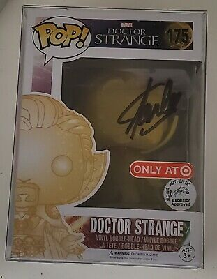 Funko Pop Marvel Dr Strange Astral Form Target 175 SIGNED BY STAN LEE WITH COA