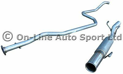 Fiesta Mk4 1.25 ('96-'00) Hoffmann Race Exhaust Performance System - Single 3""