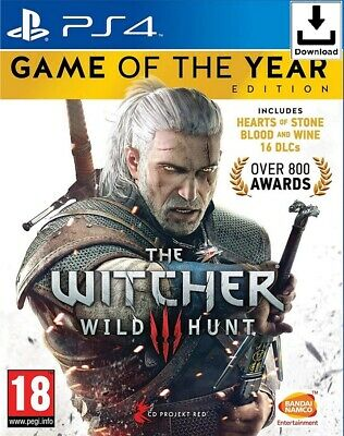 The Witcher 3 : Wild Hunt - Game of the Year Edition - PS4 📥