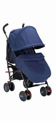 Blue Replacement Hood for Cuggl Maple Pushchair No Pushchair