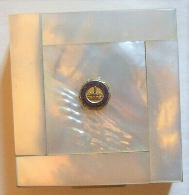 New York University Compact NYU Mother of Pearl Compact VTG