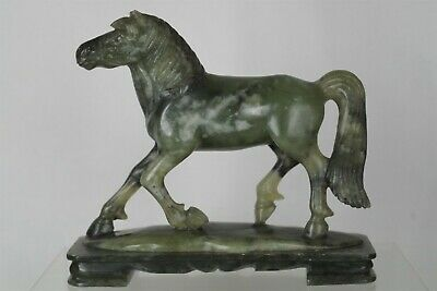 Fine Antique Chinese Carved Jade / Stone Horse