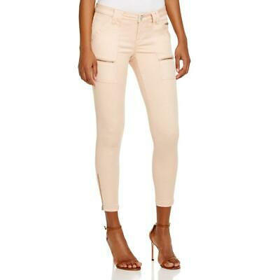 Joie Womens Park Twill Mid-Rise Casual Skinny Jeans BHFO 0133