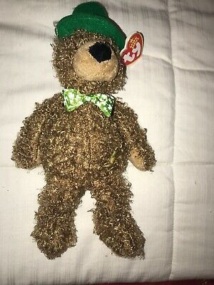 Patrick/'s Day Bear ~ Exclusive ~MINT TAGS Ty Beanie Baby ~ PATTY O/'LUCKY the St