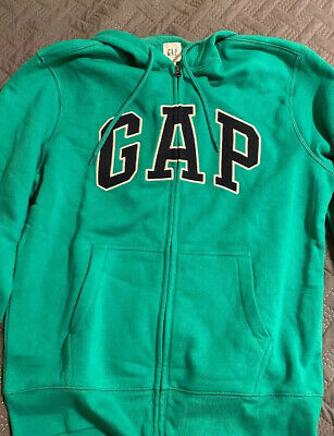 GAP Green Hoodie Mens Size Medum New With Tags
