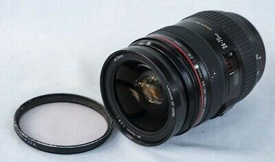 "Canon Eos Ef 24-70Mm F/2.8 L Usm Zoom Lens - For Parts ""As Is""  Nr"