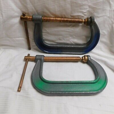 "Pair of 6"" C-Clamps 406"