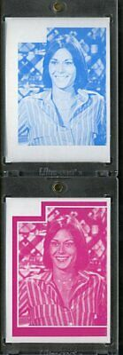 1977 Topps Charlies Angels Color Separation Proof Cards. #194