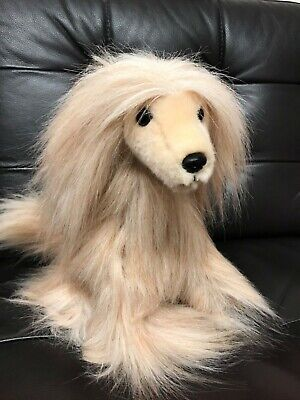 Brand New Purely Luxe Afghan Hound Aurora World Tan Valentine Collection