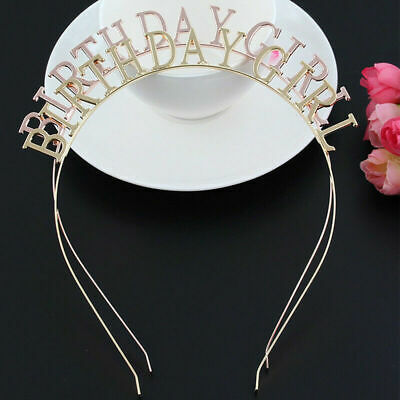 Tiara Headdress Headband Baby Girls BIRTHDAY Hairband Headwear Ornament