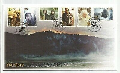 New Zealand 2003 Lord Of The Rings First Day Cover