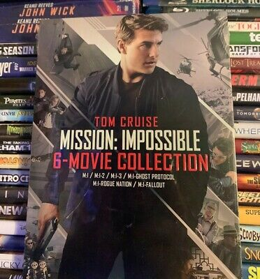 Mission: Impossible 6 Movie Collection (DVD) Tom Cruise (M:1 - M:1-Fallout)
