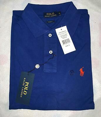Ralph lauren mens custom fit polo tshirt short sleeve small size new