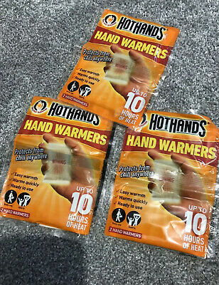 HotHands Hand Warmers - X 3 Pack Winter Cold Hands And Feet Warmers