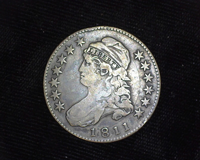 HS&C: 1811 Capped Bust Half Dollar F - US Coin