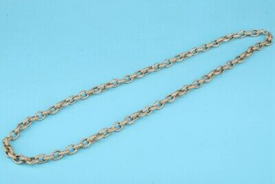 China Tibetan Silver Necklace Sweater Chain Ladie Decorative Craft