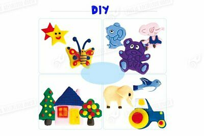 32pcs Mixed Color Oven Bake Fimo Polymer Soft Clay Moulding Toys for Children