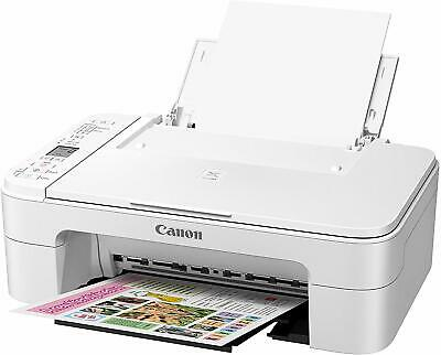 Canon PIXMA TS3122 Wireless AIO Printer Scanner Copier With Ink + FREE USB Cable