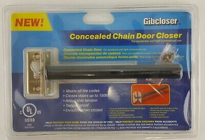 Concealed Chain Door Closer Hidden In Door Up To 150# Door Adjustable Tension