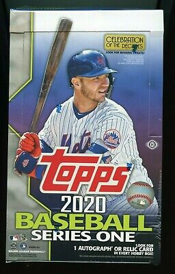 2020 Topps Series 1 Factory Sealed Hobby Box 24 Packs (1) Silver Pack