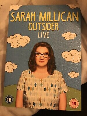 GREAT CONDITION: WATCHED ONCE: Sarah Millican Outsider Live DVD + BONUS DVD!